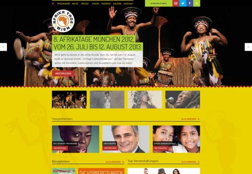 Afrika Tage ( Theme-Umbau )