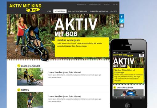 Aktiv mit Kind by B.O.B.