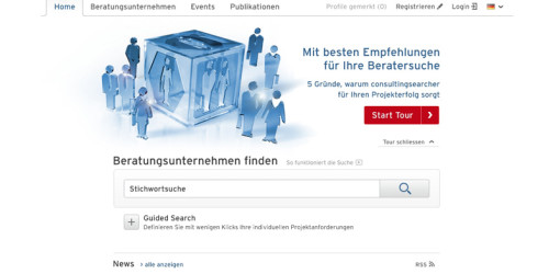 Consultingsearcher Suchmaschine