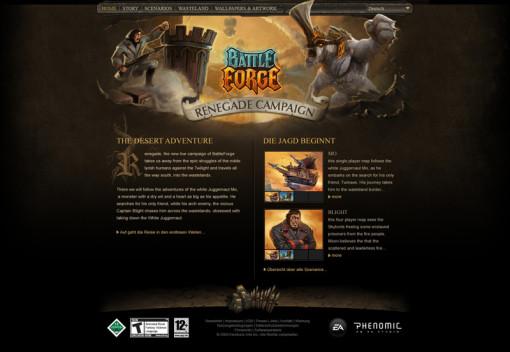 EA Battleforge Renegade Campaign