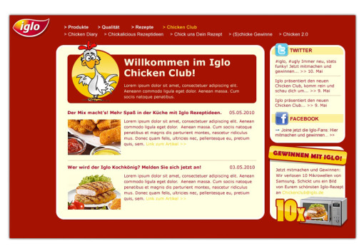 Iglo Chicken-Club