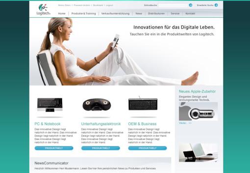 Logitech-Partnerportal